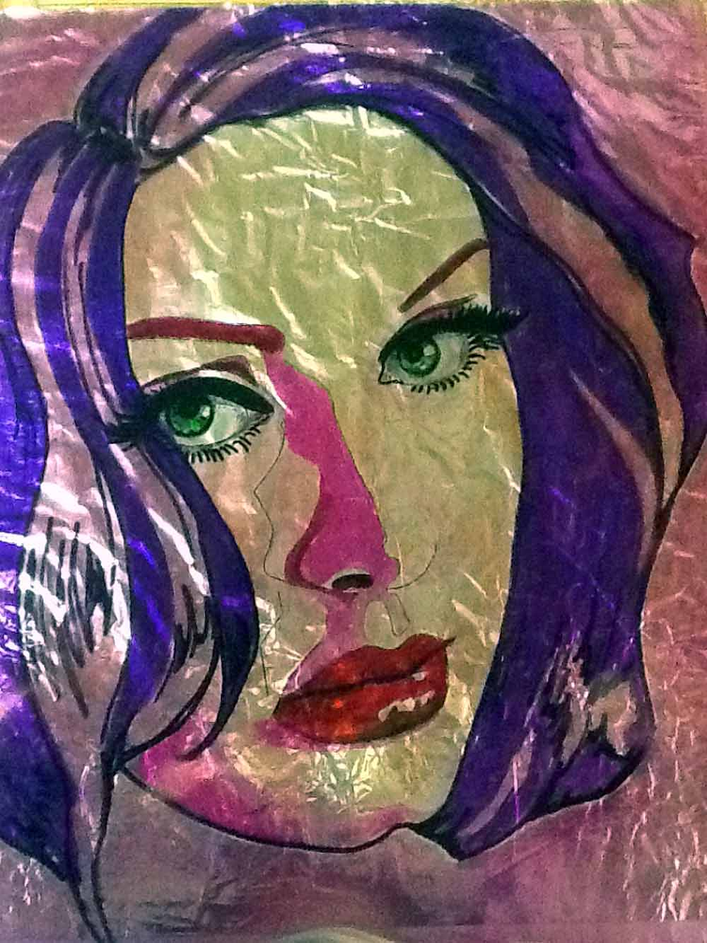 Adele pop art