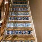 faux tile steps