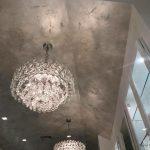 glitter theresa caputo ceiling