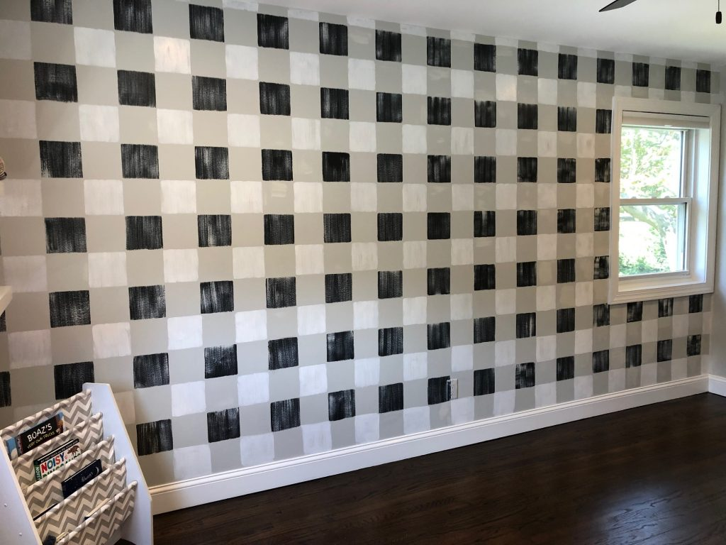 buffalo plaid walls