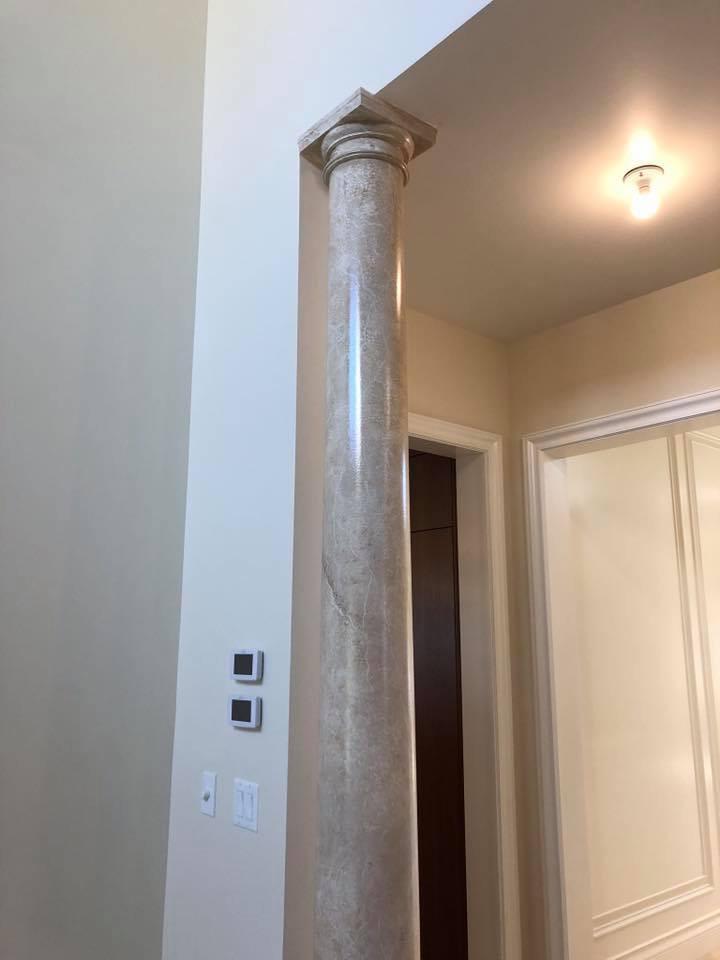 marble collumn