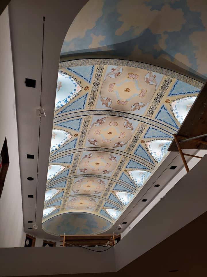 St John the Baptist ceiling