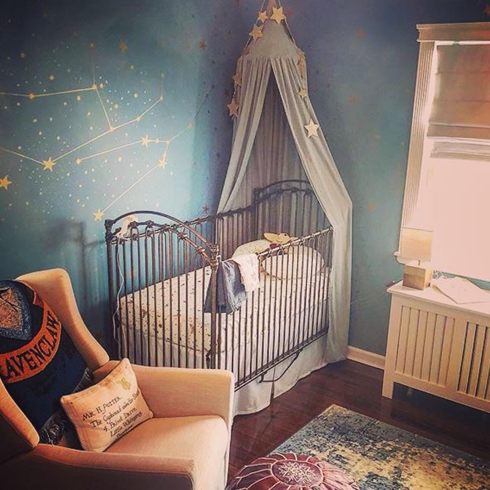 Harry Potter inspired nursery